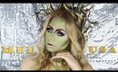 Medusa Makeup Tutorial + Snake Headpiece | TheBeautyVault