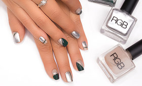 Master Mani Tutorial: Chic Color-Blocking