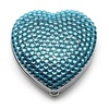 Sigma Makeup Heart Shaped Mirror - Blue Lagoon