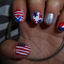 4th of July/Patriotic Nails