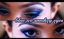 Winter Blue Smokey Eyes Tutorial