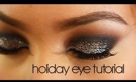 Holiday Eye Tutorial