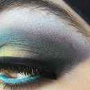 Colorful makeup look 3
