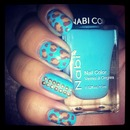 baby blue and leopard print!!