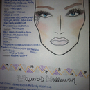 My Halloween 2012 face chart!