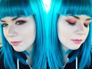 Eyeshadow is Lime Crime Venus Palette.