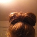 Hair bow (first attempt)