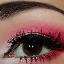 White Pink and Red Look