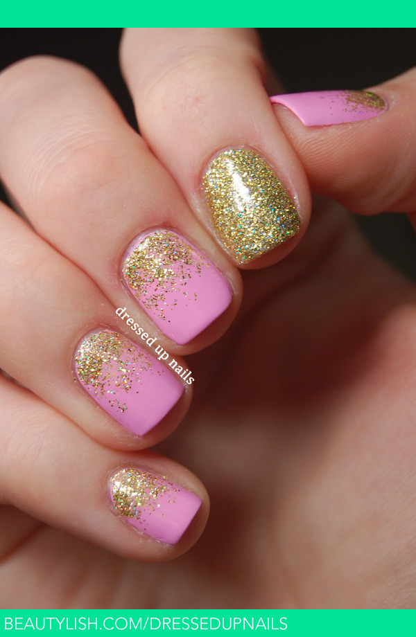 Pink Amp Gold Glitter Gradients Whitney S S