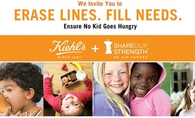 Kiehl's Helps Fight Childhood Hunger by Giving Back