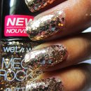 "Wet n Wild Mega Rocks Glitter Nail Polish ""Waiting for My Solo"""