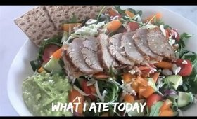 WHAT I ATE TODAY Healthy/Balanced Meal Ideas!