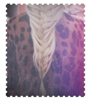 Undone mermaid braid