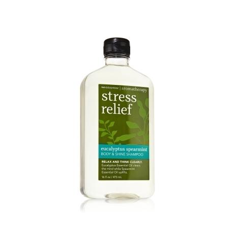 Bath & Body Works Aromatherapy Body & Shine Shampoo Stress ...