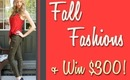 Fall Style Lookbook & WIN a $300 Shopping Spree!!