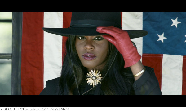 Video Still Azealia Banks Liquorice