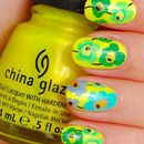 China Glaze Sun-Kissed goes Marimekko