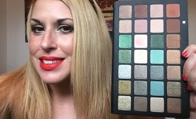 Natasha Denona 28 Eye Shadow Palette Green-Brown : Review-Swatches