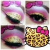 leopard Hello kitty