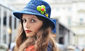 Street Style Beauty at London Fashion Week