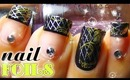 How to: Nail Foils HD Tutorial (French Manicure + Full  Coverage)☺