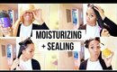 Moisturizing & Sealing Relaxed Hair | Low Porosity