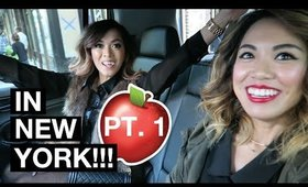 VLOG: IN NEW YORK (Part 1)!!! | yummiebitez