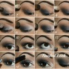 Navy Blue Smokey Eye Tutorial