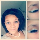 Double winged eye makeup
