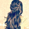 Boho Wrap-Around Braid Half-Up Updo for Long Hair Tutorial |  Spring Hairstyles