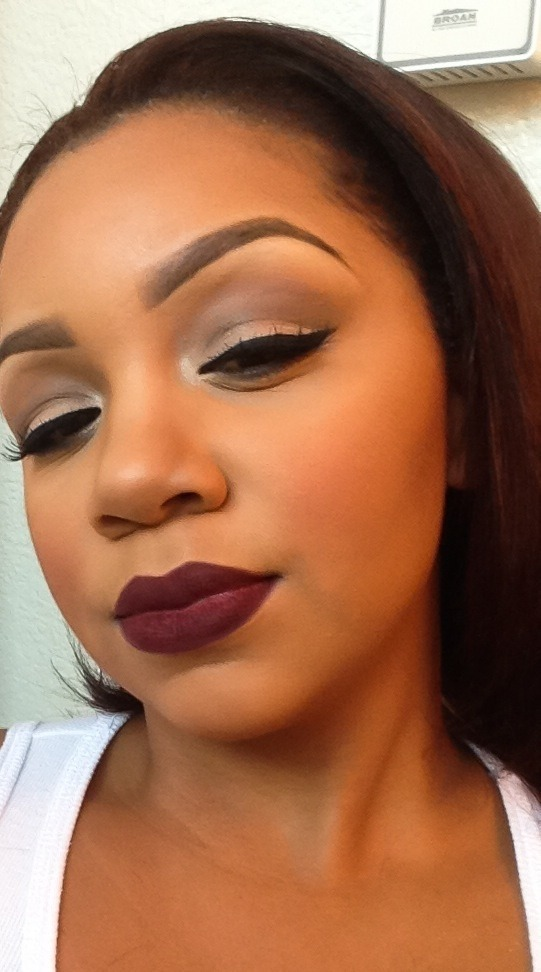 Makeup looks for brown