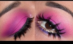 Sephora Holiday Look #3 - Hot Pink & Purple !!!