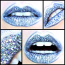 Space-age Holographic Cyber Lips