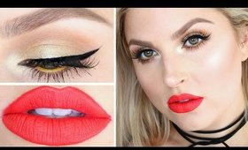 Chit Chat Get Ready With Me ♡ Fun Colorful Summer Makeup!