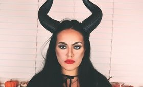 Halloween Makeup/Maleficent