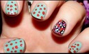 Ditsy Dot Nail Tutorial