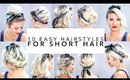 10 Easy Hairstyles for Short Hair With Headband | Milabu