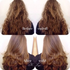 Silkly, bouncy blowout!  Like my page: www.facebook.com/KristenLupoHair  Instagram: @klupo8  💜😊