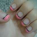 Cute French Tip Design