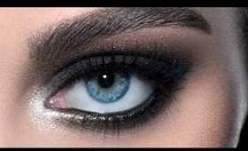 Black Smoky Eyes: IMATS Makeup Tutorial (NYC 2012)