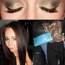 Gold Smokey Eye | Night Out