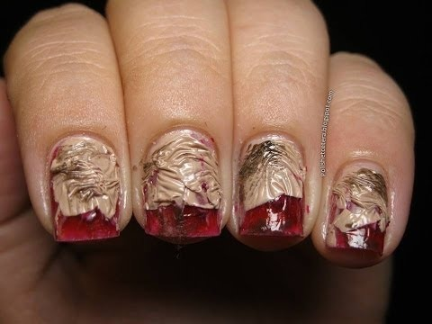 Fast easy zombie nail art for halloween xojahtna video fast easy zombie nail art for halloween prinsesfo Choice Image