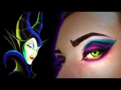 Maleficent Halloween Makeup