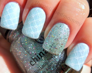 more pics and full details:http://www.thepolishedmommy.com/2012/08/optical-illusion-cinderella-busted.html