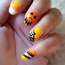 nail for halloween