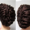 Braided Side Swept Upstyle