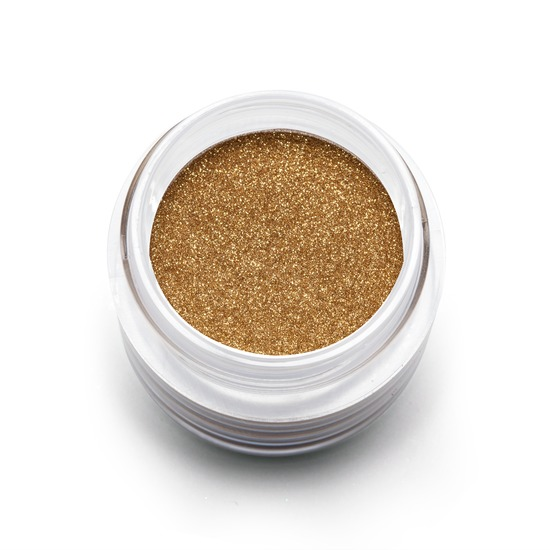 Loose Eyeshadow in Goldilux product smear.