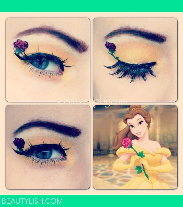 Belle Disney Makeup Look Emma B S Photo Beautylish