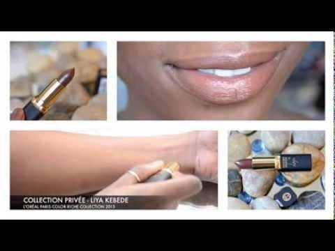 Ford Credit Account >> L'Oreal Paris Color Riche Collection Privèe Liya Kebede Ebony Elegance Lipstick | Epiphannie A ...