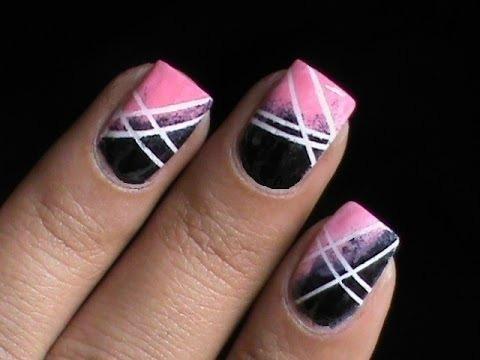 Gradient Nail Polish Designs Cute Ombre Nail Art Designs Longshort